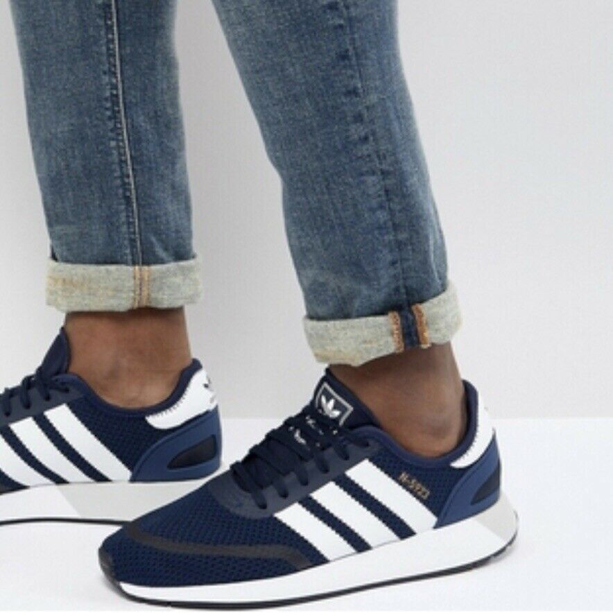 Adidas Originals N 5923 Shoes Sneakers 10.5 Navy White Black
