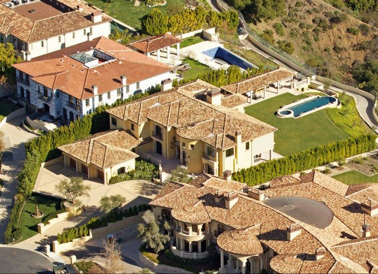 kim and kayne Bel Air California 11 millions (em) Casas