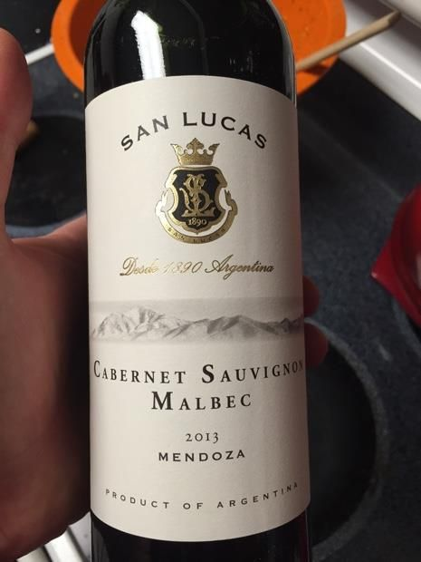 San Lucas Malbec Cabernet Sauvignon Another Great Bottle Of Wine