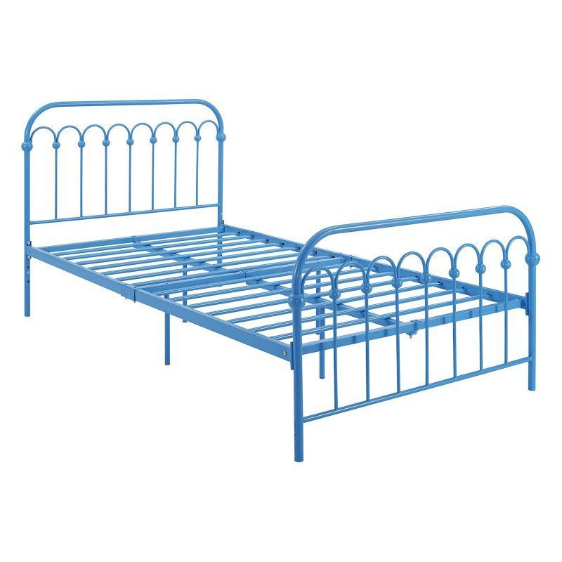 Dhp Novogratz Bright Pop Metal Platform Bed Size Twin 4004909n
