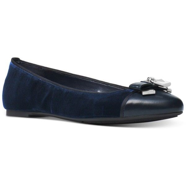 Michael Michael Kors Alice Ballet Flats (€84) ❤ liked on Polyvore featuring  shoes