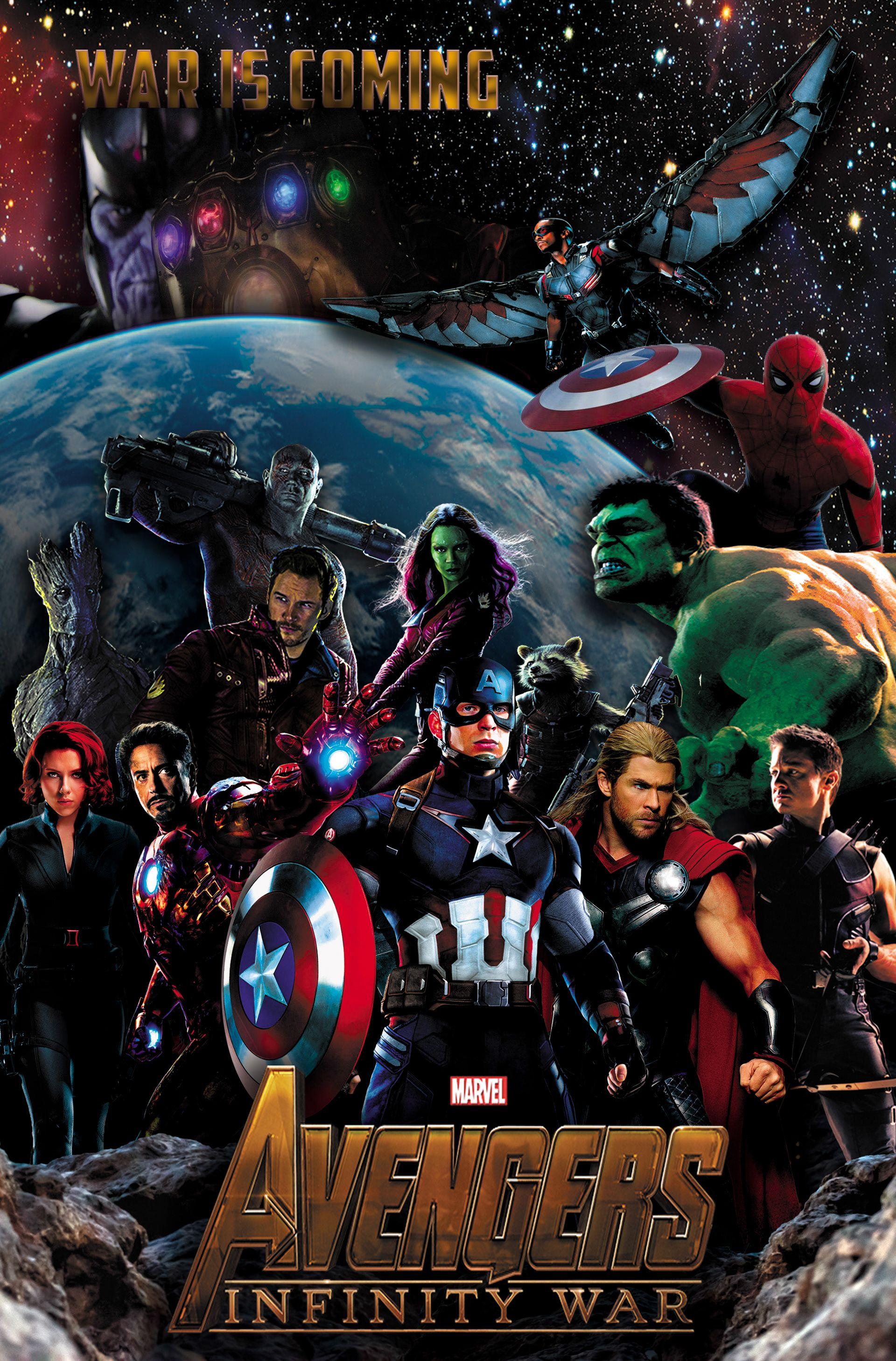 Avengers infinity war poster avengers infinity war - Images avengers ...