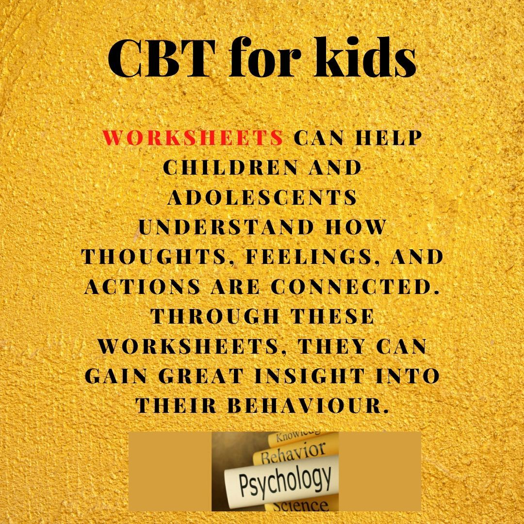 Pin On Cbt For Kids