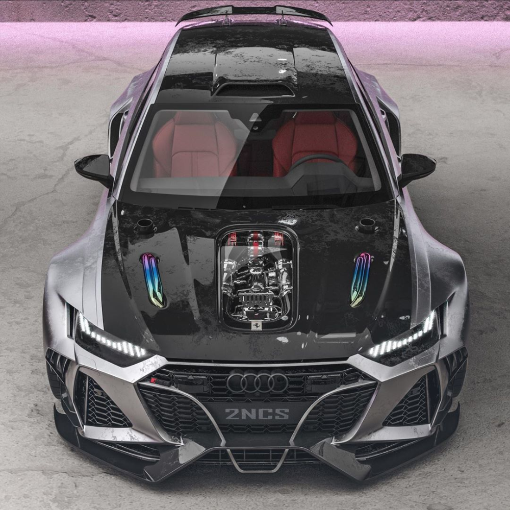 Insane 2020 Audi Rs6 Widebody Rendering Looks Real Has Four Ring Exhaust Autoevolution In 2020 Audi Rs6 Super Cars Sports Cars Luxury