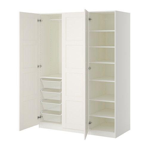 PAX Kleiderschrank, weiß, Bergsbo weiß | Ikea pax kleiderschrank ... | {Spiegel kleiderschrank ikea 57}