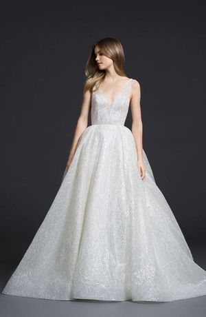 Wedding Dress By Lazaro From The Fall 2016 Collection Image Courtesy Of JLM