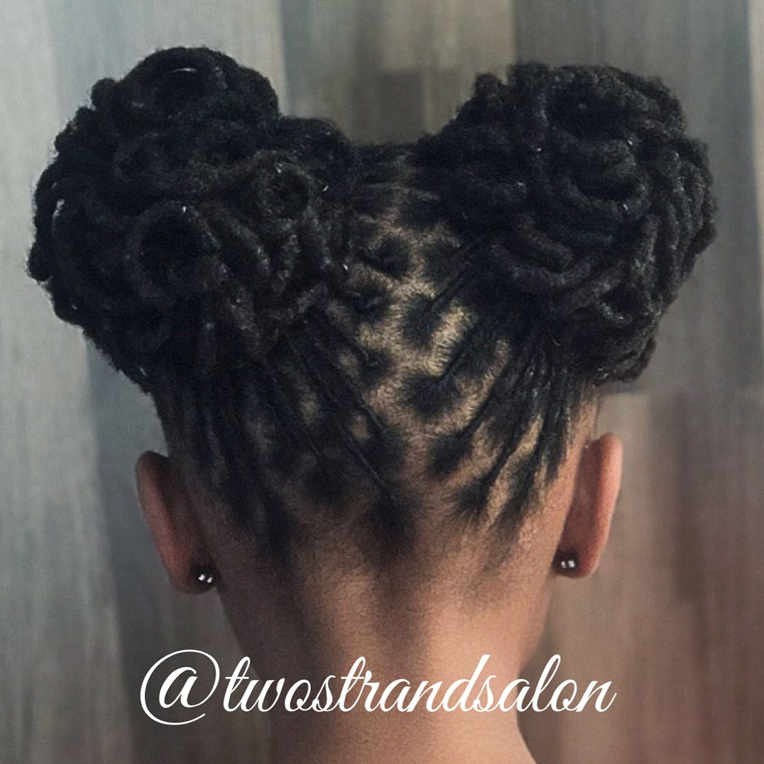Kids Are Also Welcomed At Twostrandsalon Please Call Or Email For Our Back To School Specials Dreadlock Hairstyles Black Natural Hair Styles Locs Hairstyles