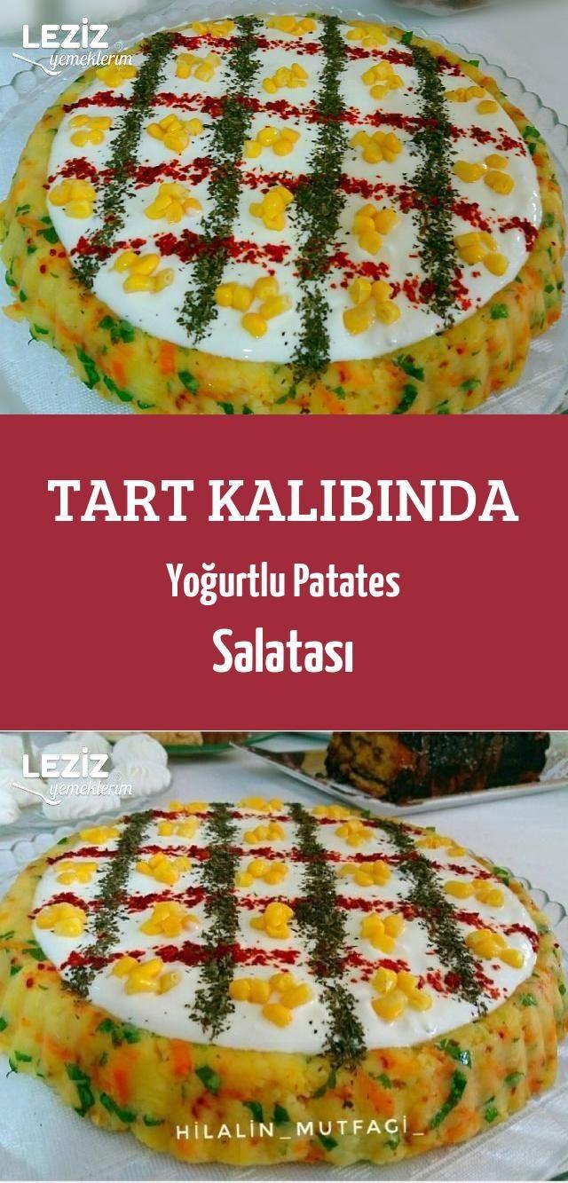 Yoğurtlu Mercimekli Patates Salatası Tarifi