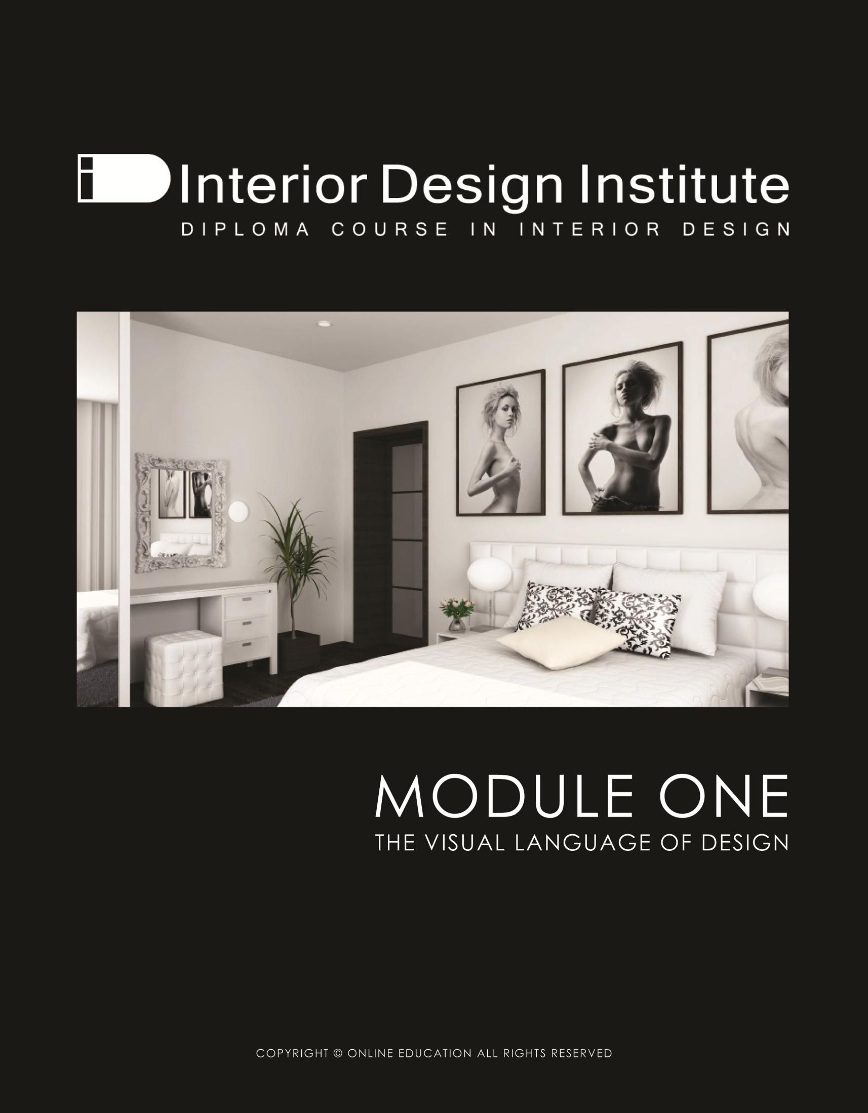 Module 1 INTERIOR DESIGN COURSE Pinterest Interior design