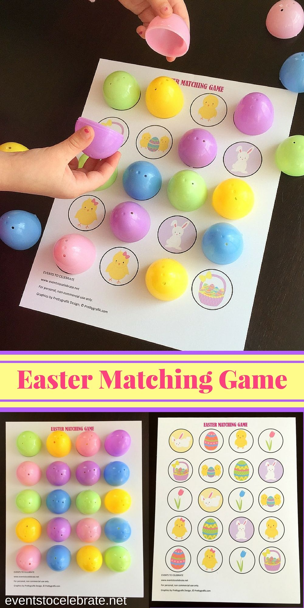 Easter Matching Game Easter games for kids, Easter party