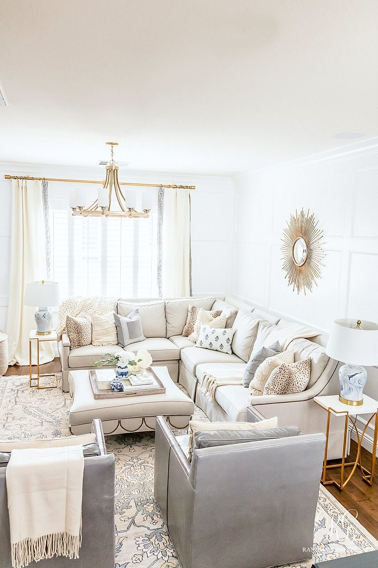 Transitional Family Game Room Reveal Living Room Colors Family