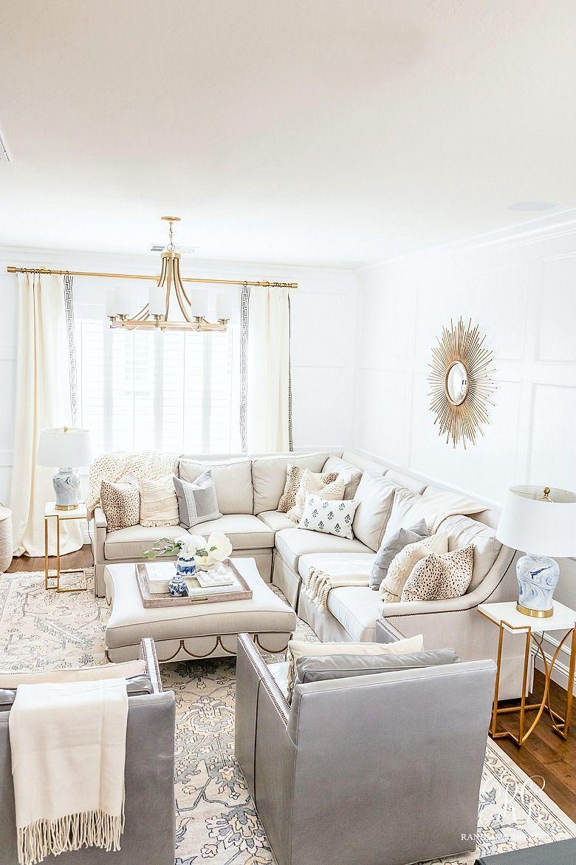 Transitional Family Game Room Reveal Randi Garrett Design Luxury Living Room Game Room Family Family Living Rooms