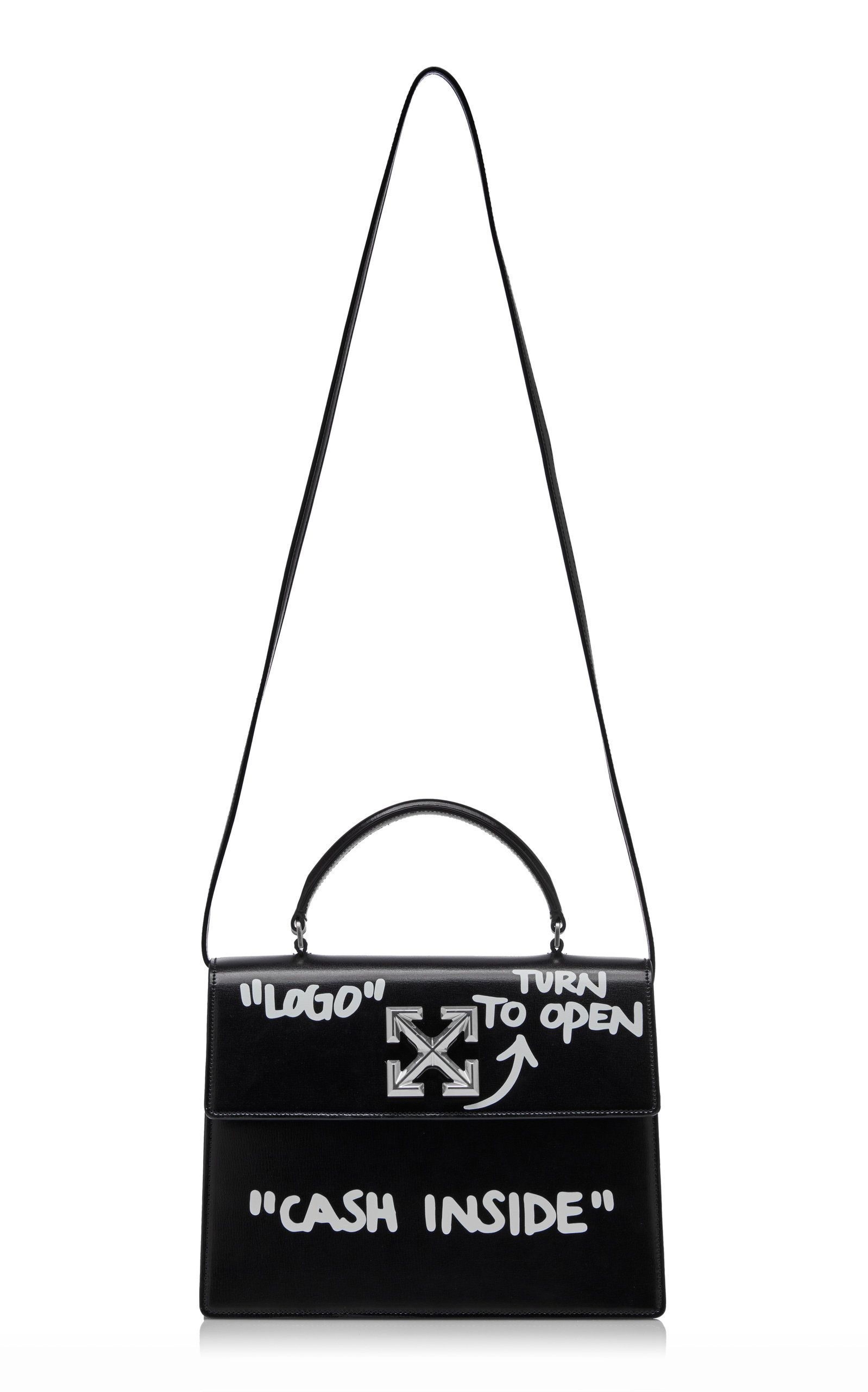 Jitney 28 Cash Inside Leather Bag By Off White Co Virgil Abloh For