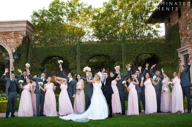 Illuminated Moments Utah And Az Wedding Photographer Light Pink Silver Colors Party
