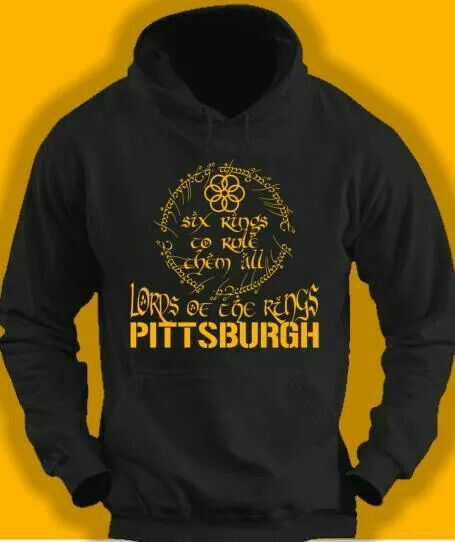 pretty nice ce4cb 895dc Lord of the Rings hoodie | *STEELERS* | Pittsburgh steelers ...
