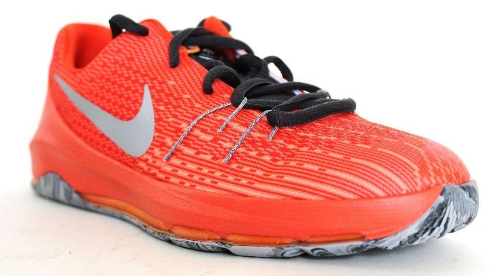 b26639e08397 Nike Boys  PreSchool KD 8 Basketball Shoes 768868 808 Orange Silver Size 3Y   Nike  BasketballSneakers