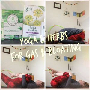 yoga  herbs for gas and bloating  easy yoga poses
