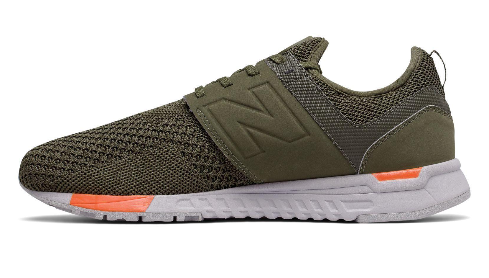 size 40 8439f 355d2 Designer New Balance Color Green The 247 Sport for men is designed to keep