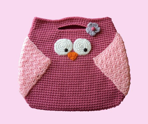 Owl Purse Crochet Pattern By Cutelittlecrafts On Etsy 450 Owls