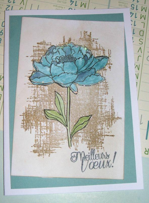 carte fleur
