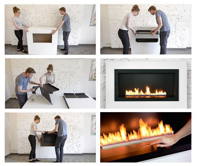 Ethanol Fireplaces At The Push Of A Button By Planika Fireplace Ethanol Fireplace Diy Fireplace