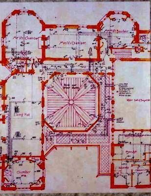 Biltmore House 2nd Floor Blueprint Floorplan Biltmore House Biltmore Estate Biltmore