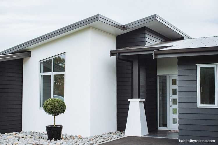 Modern Exterior Design Ideas. Grey Brick HousesWhite ...