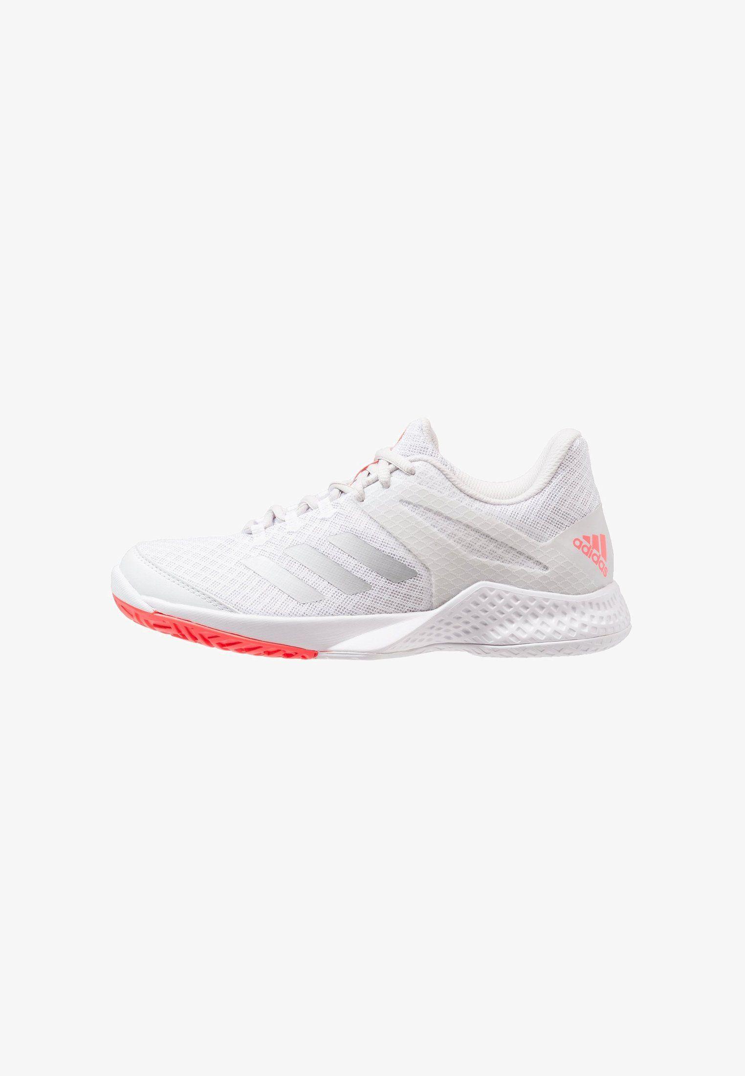 86f8804c ADIZERO CLUB 2 - Multicourt-sko - footwear white/matt silver/grey one @  Zalando.no 🛒   Zalando   Adidas, Footwear, Grey