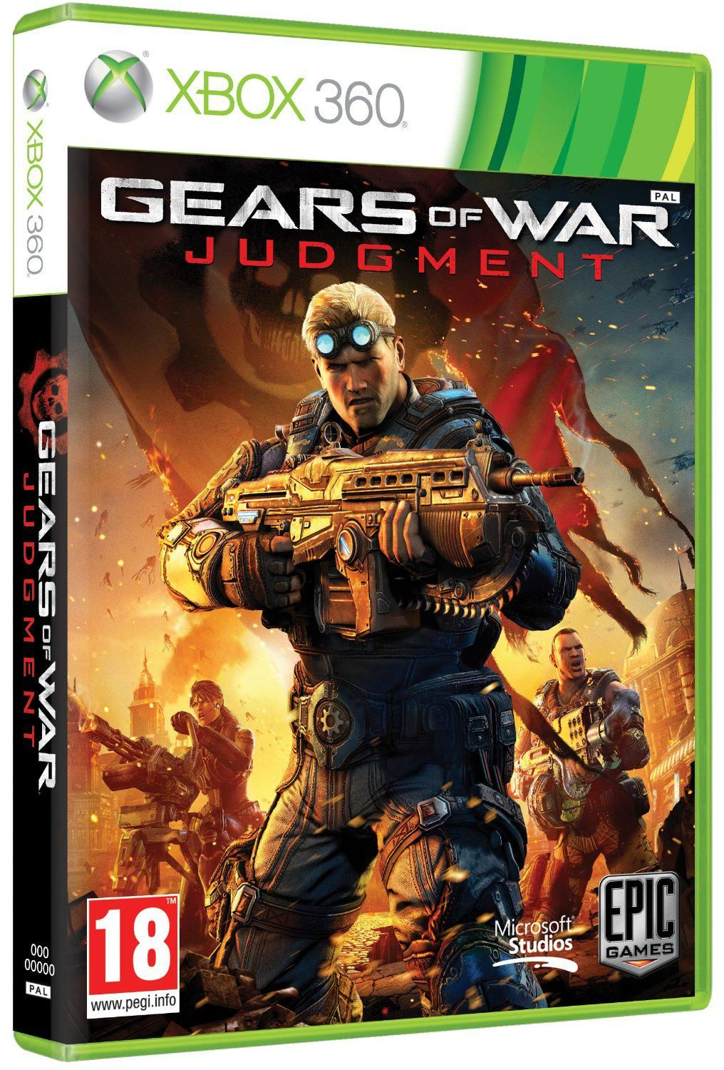 BLACK FRIDAY DEAL STARTING SOON Gears of War: Judgement (Xbox 360)