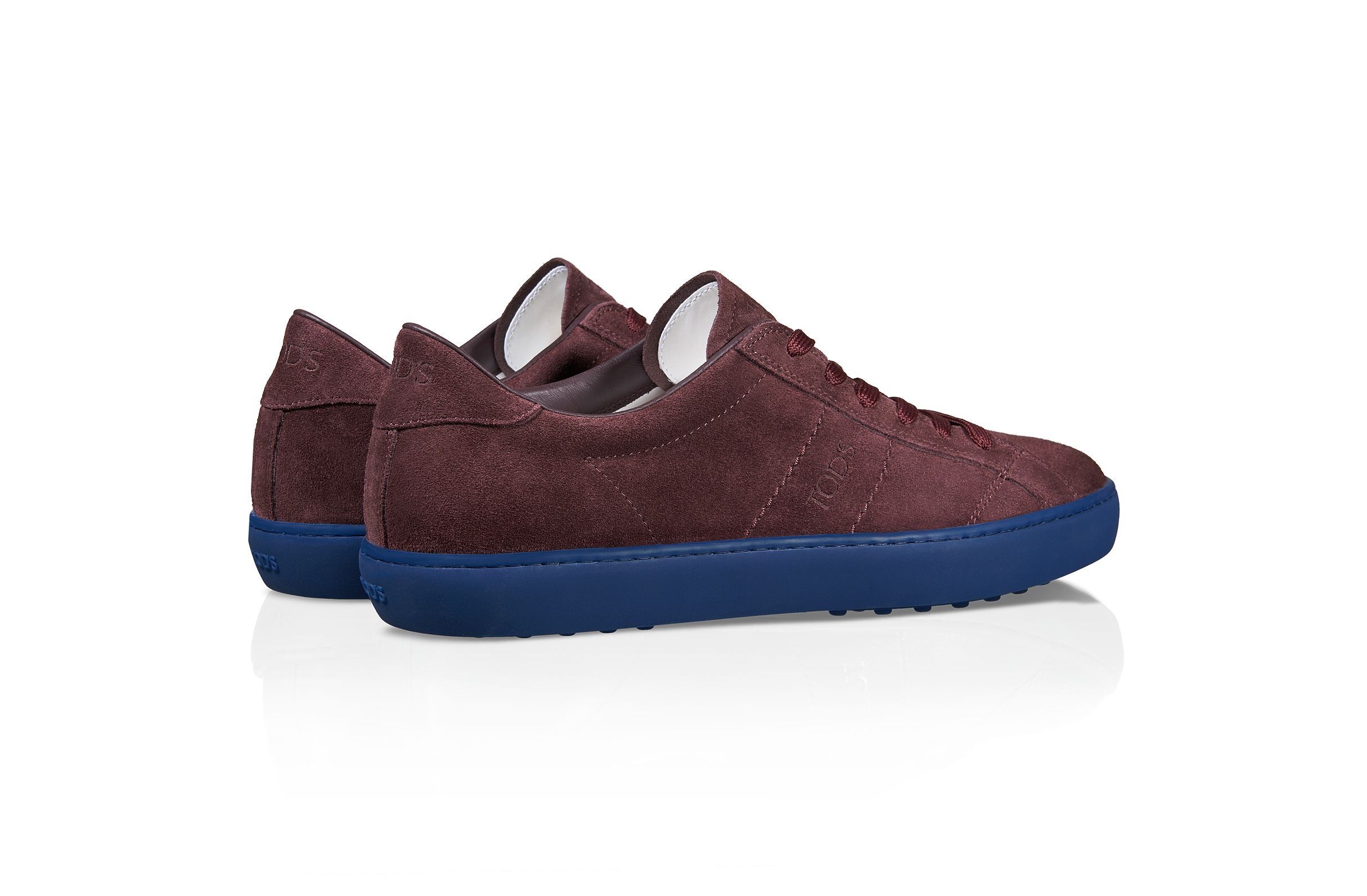 Suede Sneakers XXM0UN0L790RE0R807, Sneakers, Shoes, Spring-Summer, Shop Man - Tod's