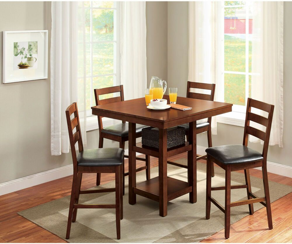 5c4f665f0a89fa2edcff545928048a7c - Better Homes And Gardens 5 Piece Counter Height Dining Set