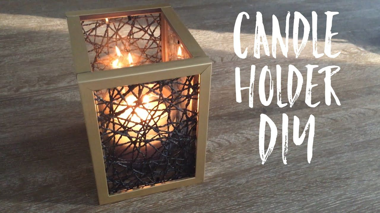 Dollar tree diy dollar tree candle holder diy home decor diy