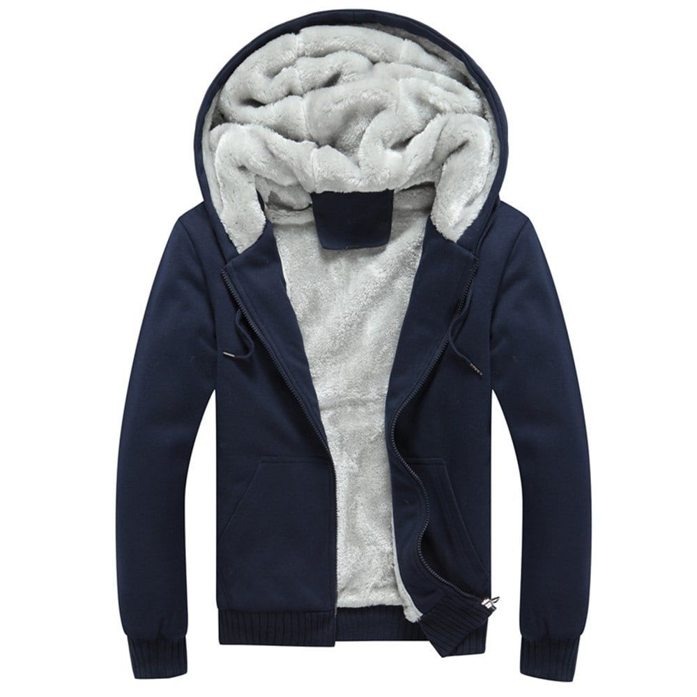 Men's Casual Fashion Snowflake Cloth Hoodies Drawstring Cuff Fitness Sweatshirt
