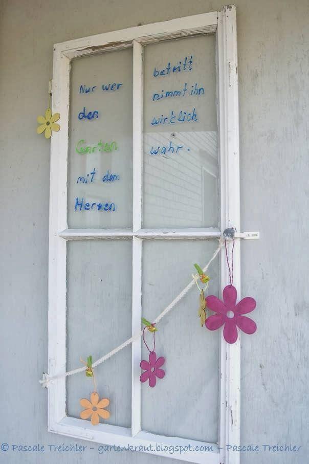 Eingangsdekoration simple decoration for spring