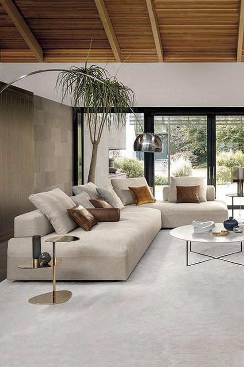 Maximale Kombinationsfreiheit und höchsten Sitzkomfort bietet das Sofa MONOPOLI. Entdecken Sie bei uns italienisches Design!  Des… | インテリアデザイン, リビング インテリア, インテリア 家具