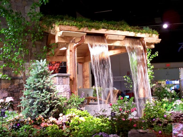 and another photostream: waterfall - Ahronian Landscaping - Boston Flower Show, 14 March 2013