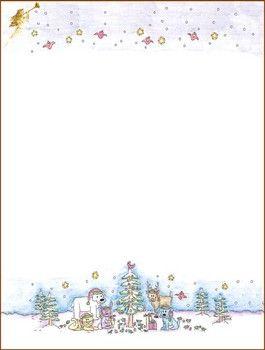 free printable christmas stationary more - Free Printable Christmas Stationary