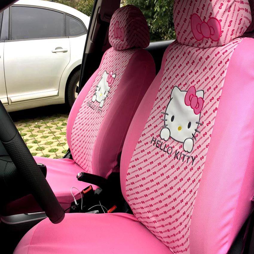 Hello Kitty Car Seat Covers 10pcs //Price 60.99 & FREE