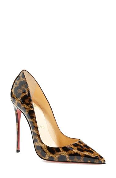 c53b950bd6e Christian Louboutin  So Kate  Pointy Toe Pump (Women) available at   Nordstrom