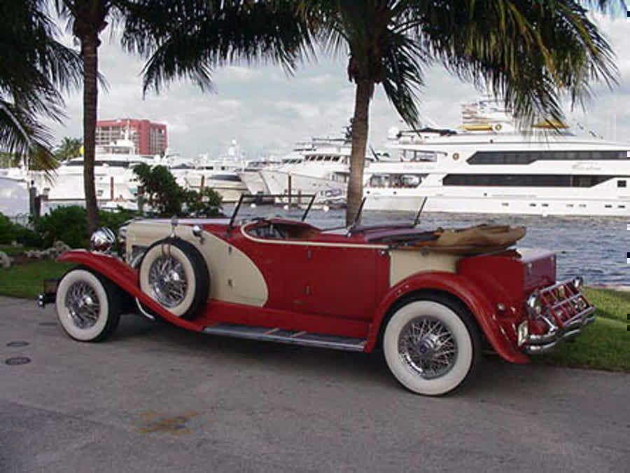 SOLD ..1932 Duesenberg II Royalton Dual cowl Phaeton