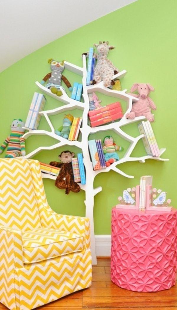 Kinderzimmer dekorieren - eine lebensfrohe Welt schaffen | grüne ...