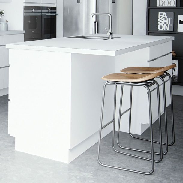 cuisine mano classic – un néoclassique au design danois | kvik.fr