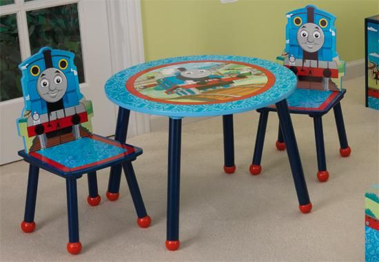 1000+ images about Micahu0027s room on Pinterest | Table and chairs, Thomas the train  table and Kid kraft