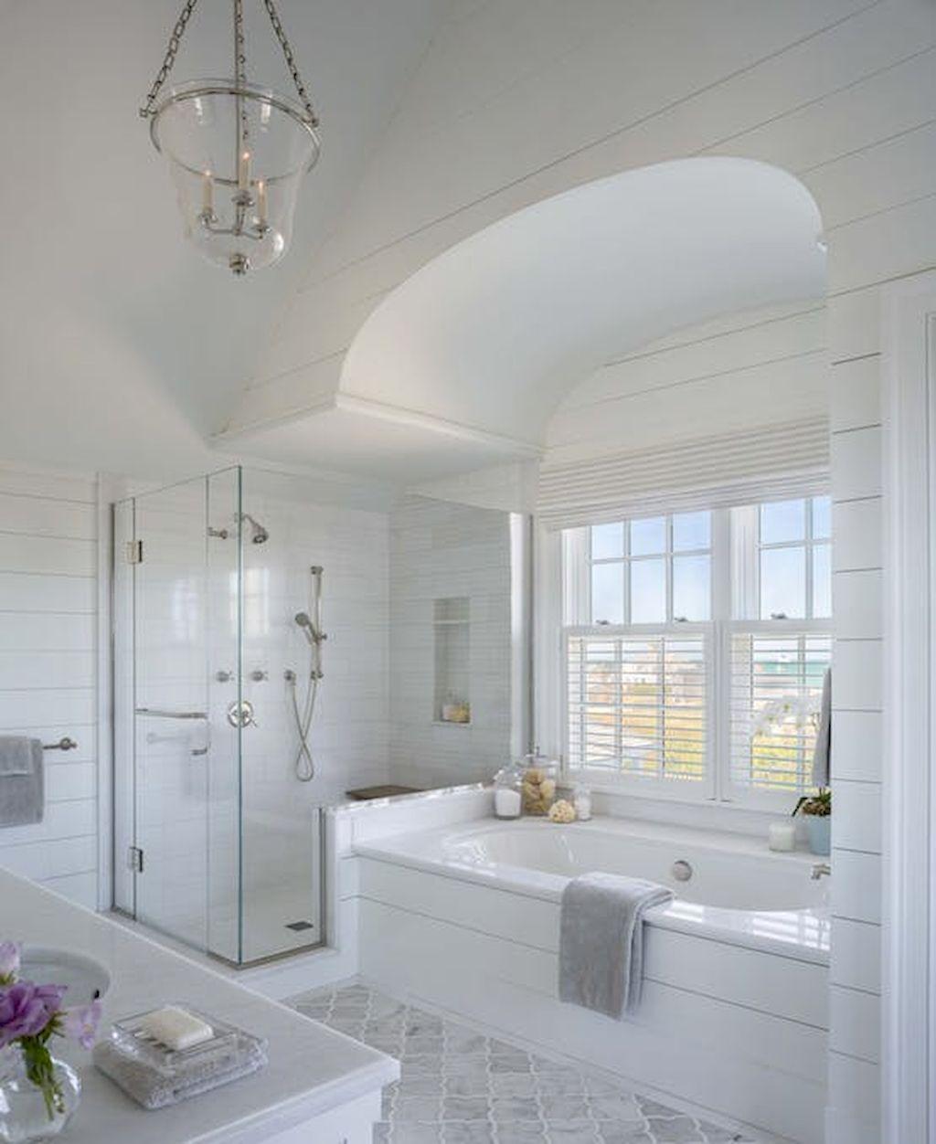 80 Stunning Coastal Bathroom Remodel Design Ideas | Coastal ...