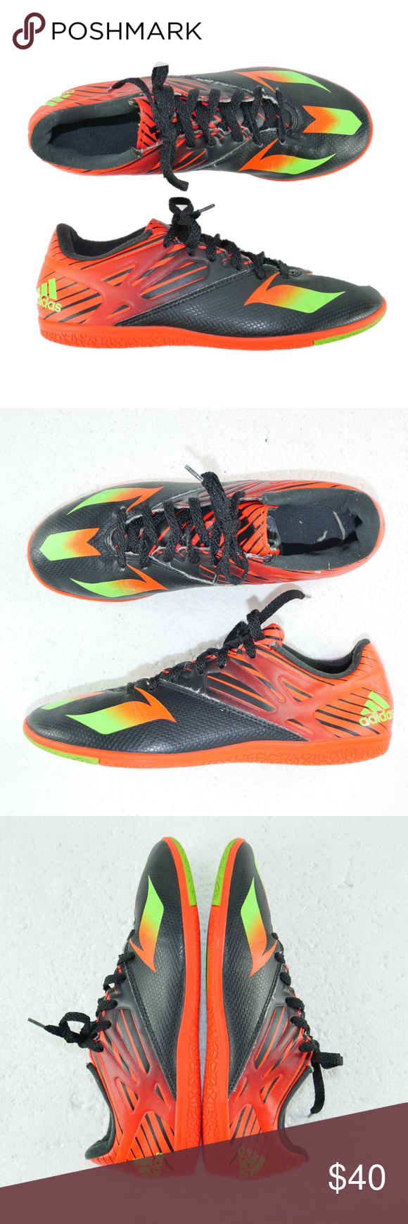 info for f83b6 6c623 Adidas Messi 15.3 Indoor Soccer Shoes Mens Sz 7 Adidas Messi 15.3 Indoor  Soccer Shoes Mens