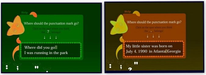 Comma-chameleon...and other games to help kids review grammar