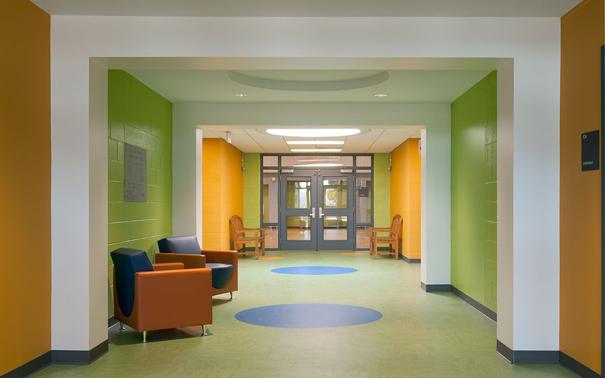Architecture east montpelier elementary school school What is the best school for interior design