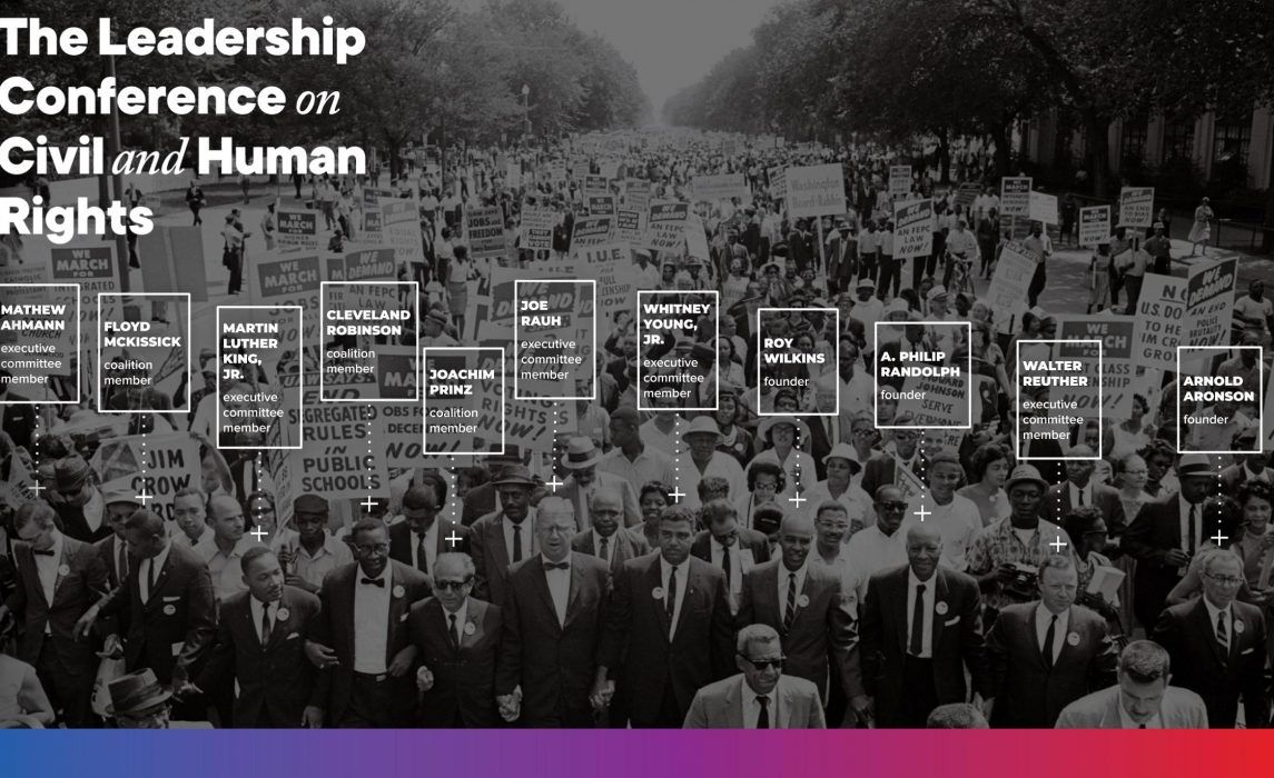 History The Leadership Conference On Civil And Human Rights Leadership Conference Leadership Human Rights