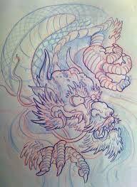 """Résultat de recherche d'images pour """"how to draw a japanese dragon"""""""