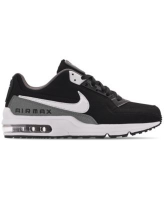 online store 4969a 8ba7e Nike Men s Air Max Ltd 3 Running Sneakers from Finish Line - Black 8.5